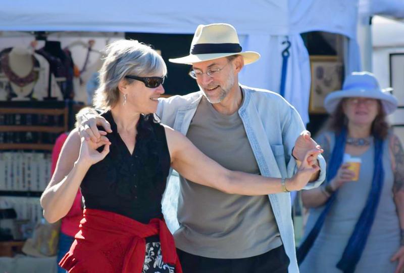 Carol & Rick dancing (Colorscape photo by Kathryn Rutz)