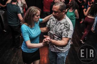 Charles Ballard dancing Salsa